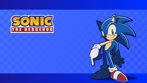 Sonic Wallpaper - Adventure-Riders by Drewdini