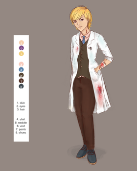 Design A Mad Scientist [Contest] Dr. Silico by nucchiin