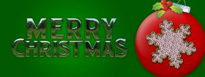 Merry Christmas Banner by SD-Designs