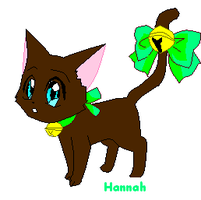 My Bff Hannah as A Cat by PennsylvaniaAnime