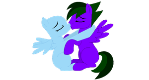 Couple kiss [collab] by LR-Studios
