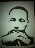 Martin Luther King Jr. by Stencils-by-Chase