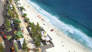 Surfer's Paradise Foreshore by jordanoth