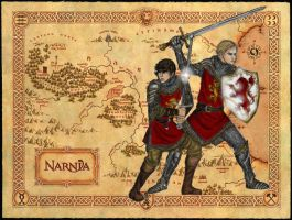 Kings of Narnia by Theophilia