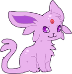 Espeon by DemonicShadow91