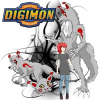 Alena-Digimon OC by Gomamon4life