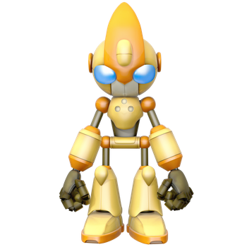 Emerl Render (Forward Pose) by Nibroc-Rock