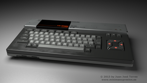 MSX Series - Philips MSX VG-8020 - Front by JuanJoseTorres
