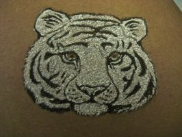 White Tiger Tattoo by sing2mi