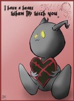Kingdom Hearts VDay Card by Sorren-Chan