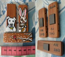 Magnets for sale and commission by ysyra