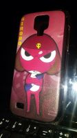 Giroro Faceplate for Samsung Galaxy s4 mini by SolarGear079