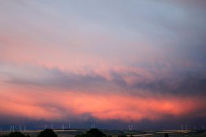 Sunset Storm by JuliusMabe