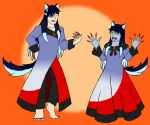 Halloween Wolves Redux: Actual Cosplay by AzureMagic
