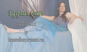 EXCLUSIVE STOCK Egyptian Queen Repose 1 by themuseslibrary