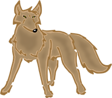 Wolf ClipArt by WolfArtC