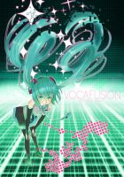 VOCAFUSION: Hatsune Miku by SquishyCommishies