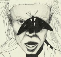 Detail Yolandi Visser portrait by Stephanieflare