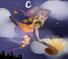 Little Witch by xcocobunny