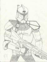 ARC trooper Spar - pencil by UGCcomics