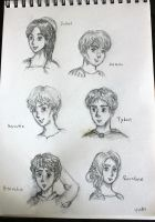 Romeo and Juliet-characters by Artzykat