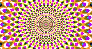 Expansion Contraction Vibration - Optical Illusion by H-Flaieh