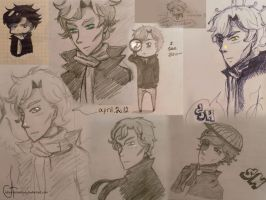 Sherlock__sketchdump__by_Juliya-Kistenjova by Julia-Kisteneva