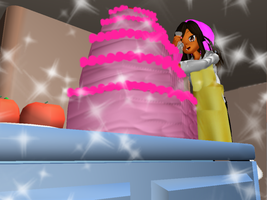 Cooking Asia made a Cake by Asiatheblacknese