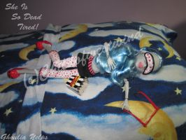 Ghoulia She Is So Dead Tired 2 by Childofwestwind