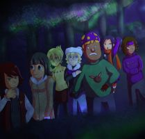 Horror Contest: Wicked Woods by Ribbon-Knight