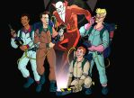 The real ghostbusters meet deadman by Mathieugeekboy