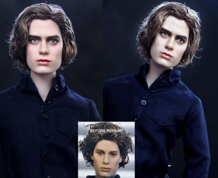 Twilight Jasper Hale doll by noeling