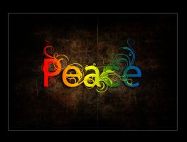 Colorful Peace by darksideoftheblues