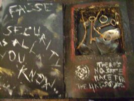 Altered Book 3: No Safe Place by lostbooks