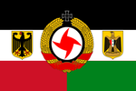 German-Arab Strategic Alliance Flag (Version 2) by ARCN7