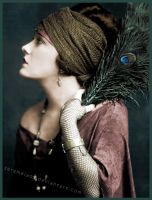 Gloria Swanson Colorization by seremela05