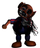 Withered BB by FredbearTheAnimatron