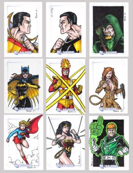 DC Legacy Sketch Cards I by tonyperna