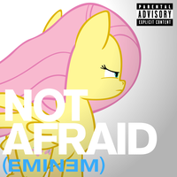 Eminem - Not Afraid (Fluttershy) by AdrianImpalaMata
