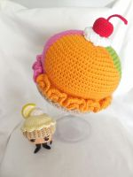 rainbow sherbet hat by MasterPlanner
