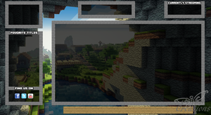 Minecraft Twitch Overlay by jenlucreations