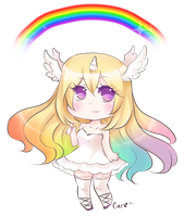 Goddess of Rainbows by carcarchu