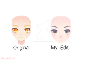 || Face male edit TDA ~possible download~ || by ChocolatLoid