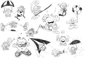 Cartoon Guys by PatrickJoseph