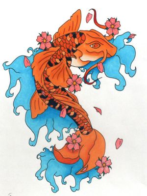 Design Fish Tattoo With Images Japanese Koi Tattoo Very Cool  Design Art