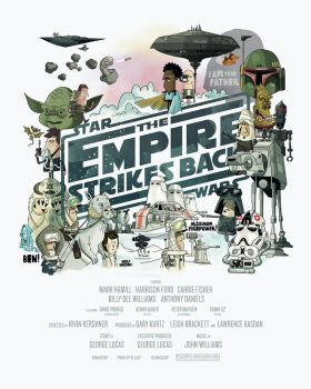 The Empire Strikes Back by TheBeastIsBack