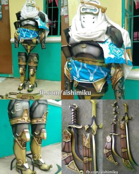 Nomad Genji Cosplay Set by aishicosplay