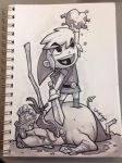 Link's Heart - Own this drawing! by DerekLaufman