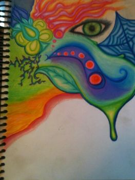 Colorful work in progress by MissAmber2909