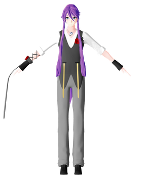 MMD The Lost Memory GAKUPO Model Remake by ChiharuYuuka